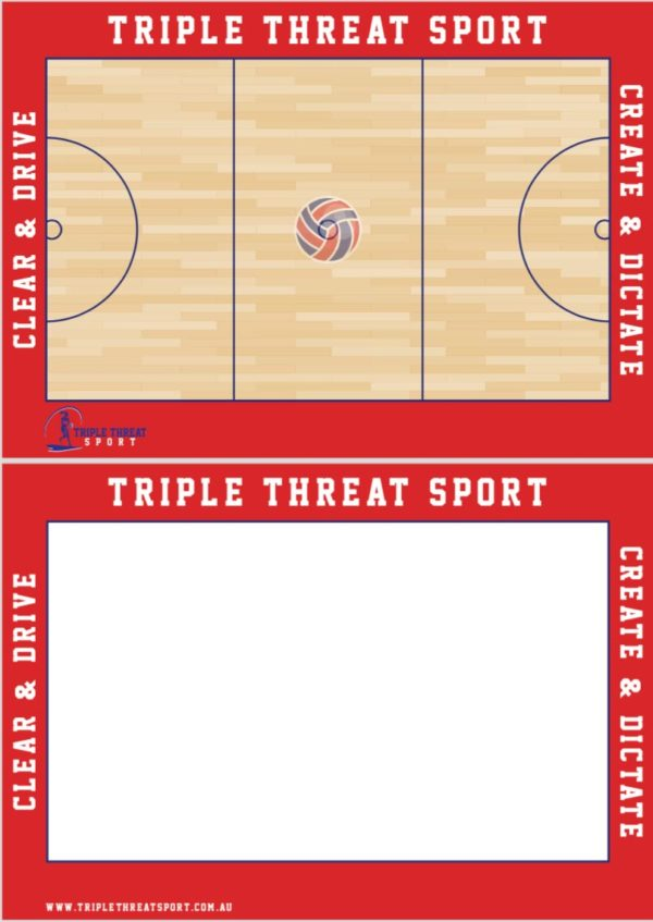 Netball Coaching Board 3